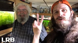 Amazing Fish Room! Chuck Bremer's Fish Room Tour 2018