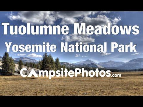 Tuolumne Meadows Campground, Yosemite National Park, California Campsite Photos