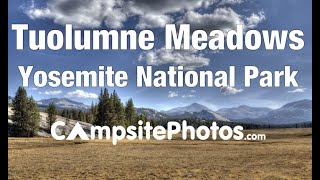 Tuolumne Meadows Campground, Yosemite National Park, California Campsite Photos