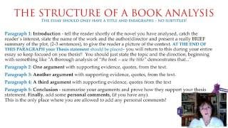 Book Analysis Part 2/6 Preparation And Structure.