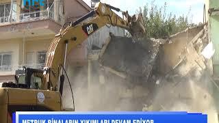 Metruk binaların yıkımları devam ediyor