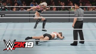 Wwe 2k19 Dream Match: Ronda Rousey  Vs. Alexa Bliss