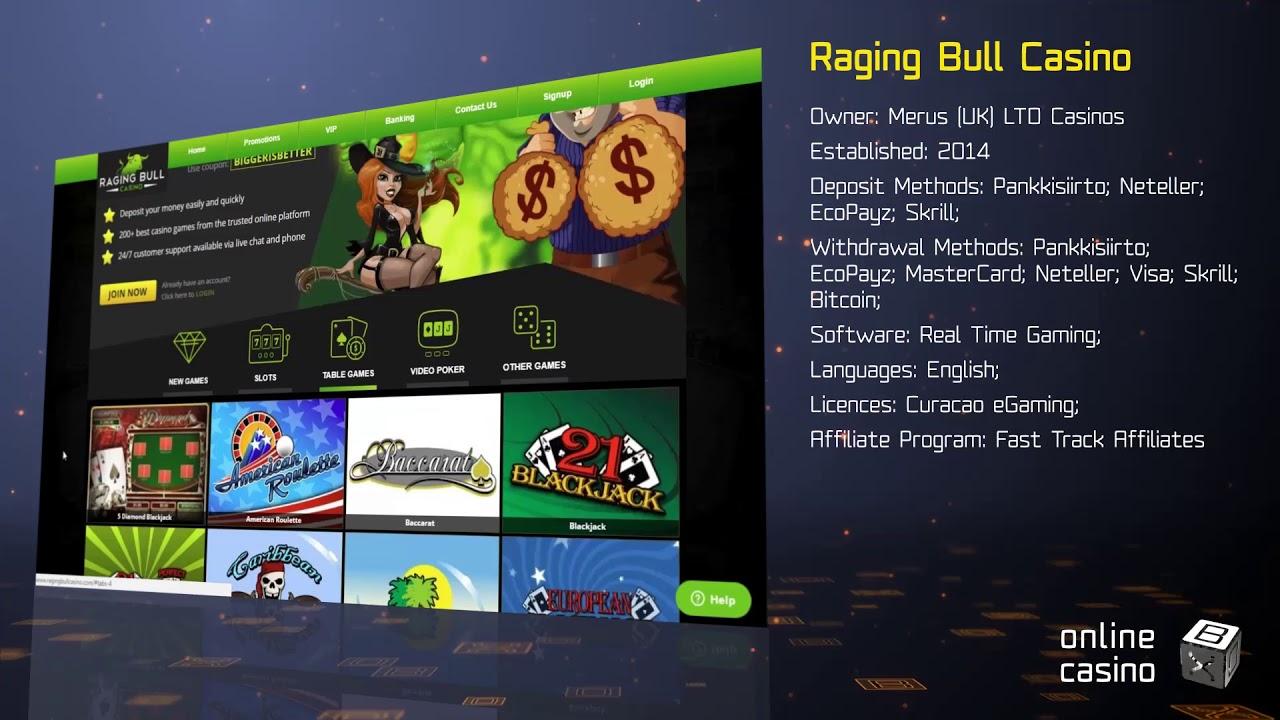 Raging Bull Casino Australia
