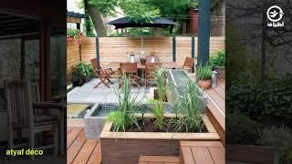 Aménager Et Décorer Votre Maison أفكار عديدة ديكور وتصميم السطح والبلكـونة