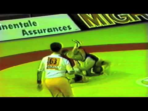 1989 Senior World Championships: 52 kg Thierry Bourdin (FRA) vs. Cheul-Seul Son (PRK)