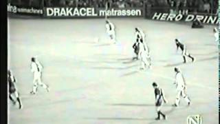 Barry Hulshoff Vs Real Madrid - 1972-73 European Cup Semi Final 1st Leg