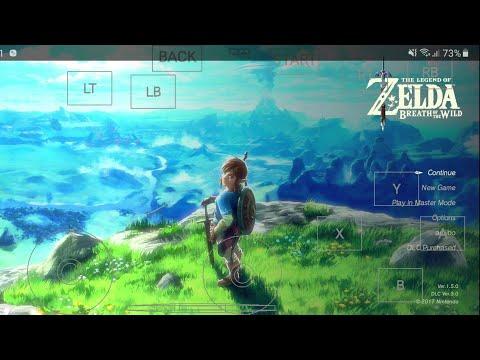 Cemu 1.15.7c Emulator On Android - Zelda Botw - Samsung Galaxy S10+