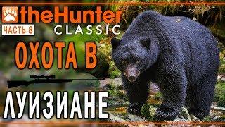 theHunter Classic #8 🐶 - Охота на Болотах Луизианы - Rougarou Bayou - СТРИМ