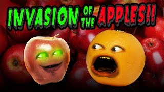 Annoying Orange - Invasion of the Apples! (Supercut)