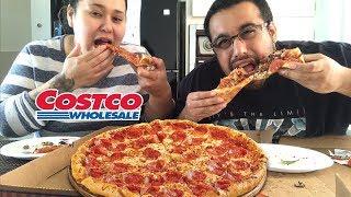 🍕CHEESY COSTCO PIZZA MUKBANG | Pepperoni pizza Mukbang | SUPREME PIZZA | LOADED PIZZA |