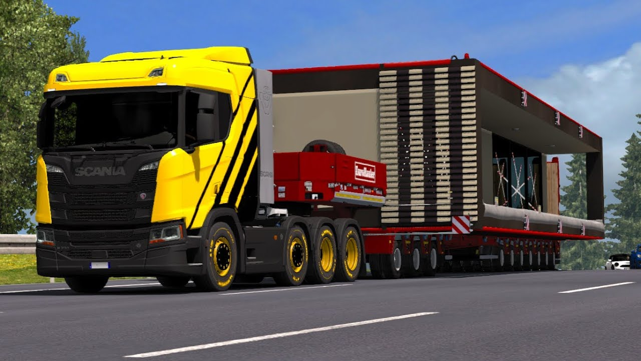 euro truck simulator 2 special transport dlc 25t. Black Bedroom Furniture Sets. Home Design Ideas