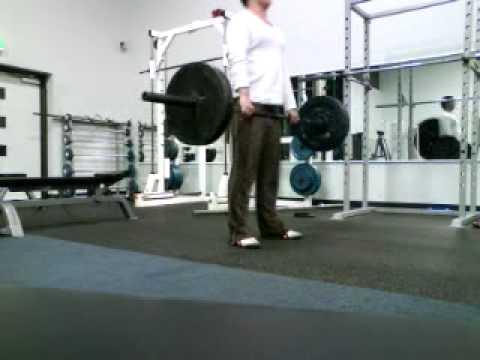 Straight leg deadlift form check, 100kg SLDL - YouTube