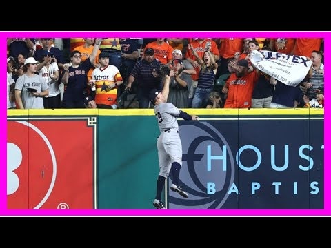 Aaron Judge's awesome leaping catch robbed a Game 7 homer