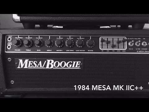 Mesa Boogie Mark Comparison Iic Iic Iv