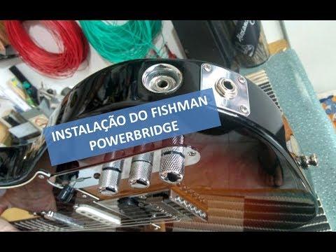 Circuito Powerbridge na Fender Telecaster USA