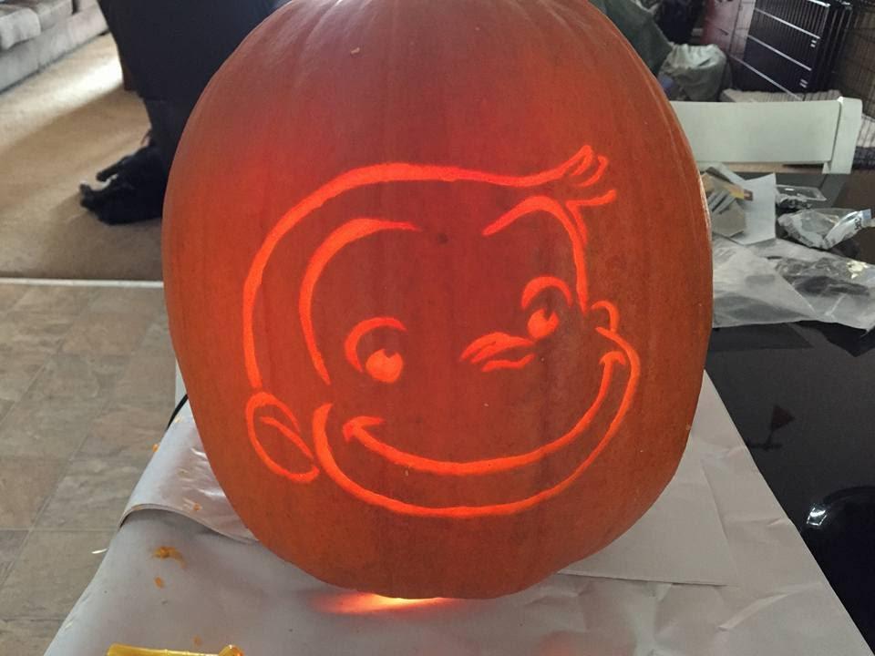 Curious George Pumpkin Youtube