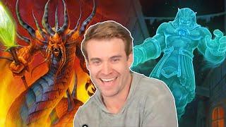 (Hearthstone) Flamewaker Quest Mage VS Quest Druid