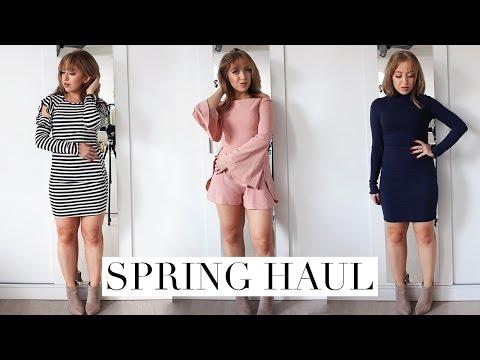 SPRING FASHION TRY ON HAUL 2017   Fashion Nova