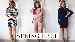 SPRING FASHION TRY ON HAUL 2017 | Fashion Nova