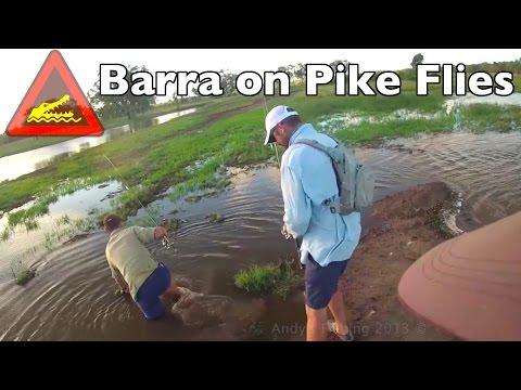 Pike Flies used on Austrlian Fish Andy's Fishing Video EP.341