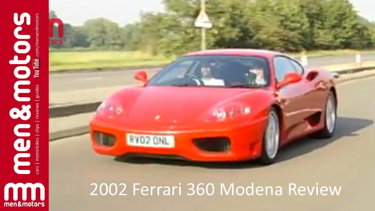 Ferrari 360 modena review