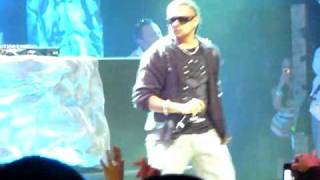 Sean Paul Keyshia Cole Give It Up To Me Live @ HOB Myspace cd release party 081109