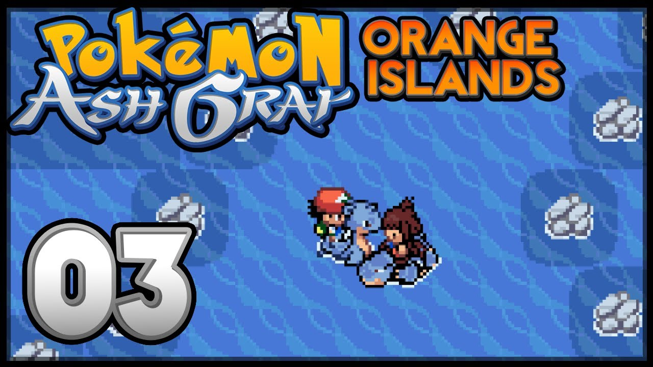 pokémon ash gray the orange islands episode 3 youtube