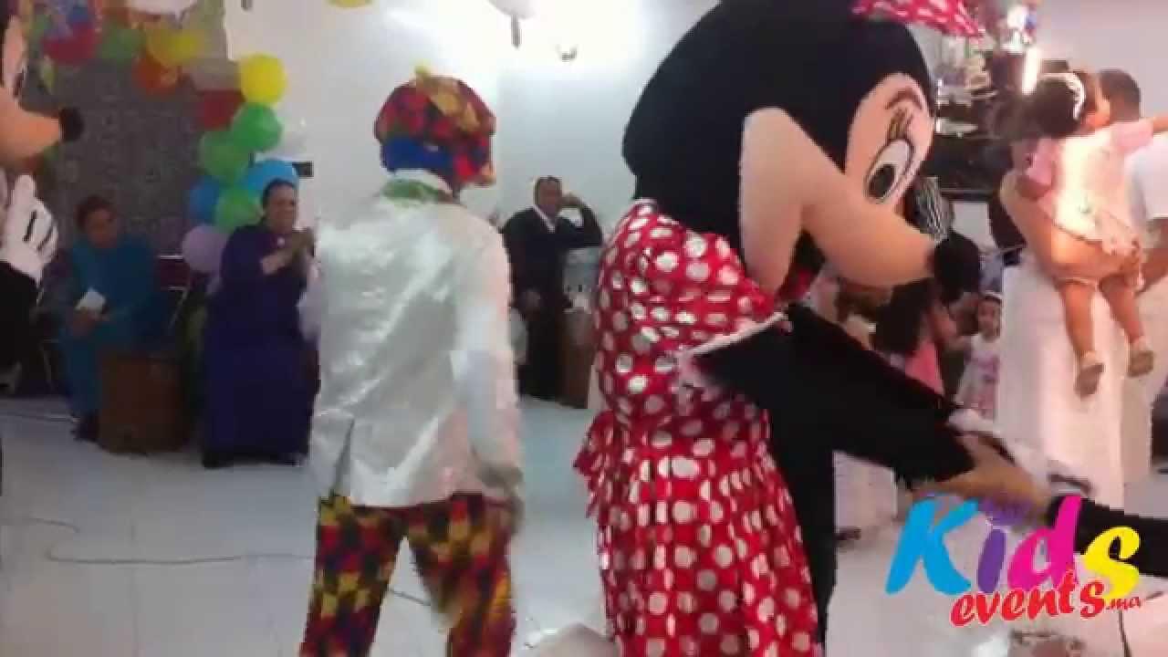 Anniversaire, Animation et Spectacle pour Enfants à domicile au Maroc