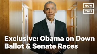 Exclusive: Obama on the Urgency of 2020's Senate & Down Ballot Races | NowThis