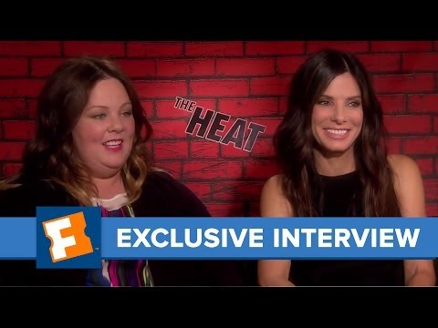 The Heat | Celebrity Interviews | FandangoMovies