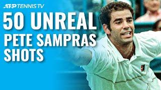 50 Pete Sampras Shots & Rallies That AMAZED Spectators!