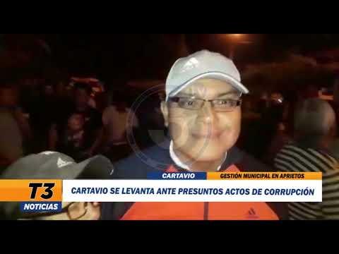 CARTAVIO SE LEVANTA ANTE PRESUNTOS ACTOS DE CORRUPCIÓN
