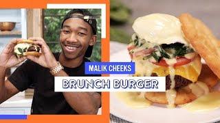 Ultimate Brunch Burger   Malik Cheeks
