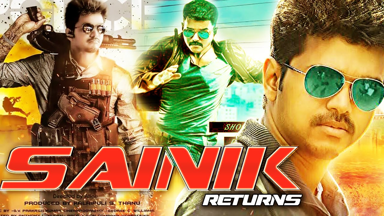 sainik returns full movie (2016) | hindi dubbed movies 2016 | vijay