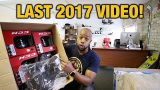Last video of 2017 Q&A Unboxing with Chris from Hockey Tutorial