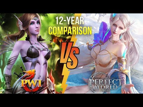 Perfect World Mobile & Perfect World International 12-Year Comparison Video Review