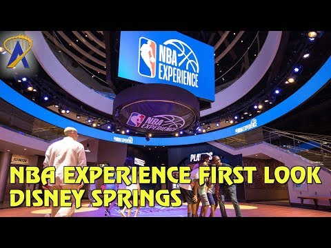First Look inside NBA Experience at Disney Springs West Side