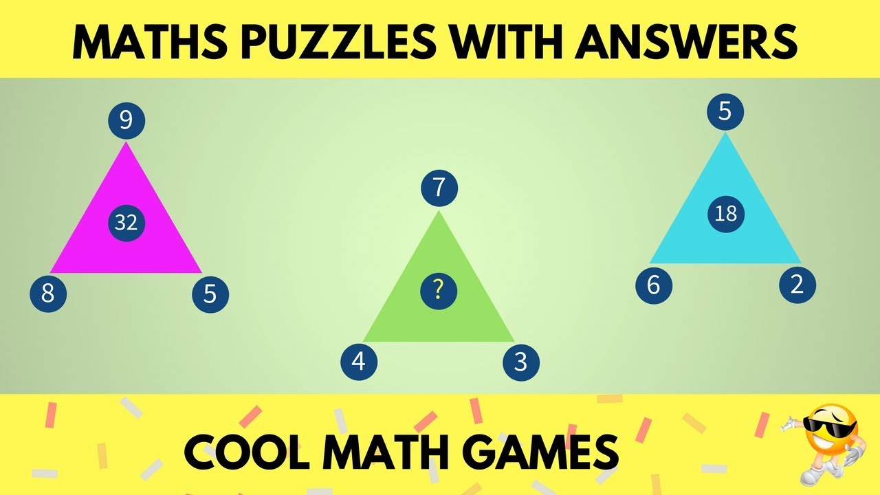 Can you Solve this Math Puzzle Game | Maths Puzzles with Answers ...