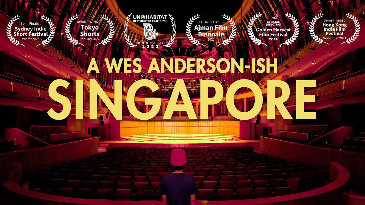 A Wes Anderson-ish Singapore - An Architectural Short Film Premiers Virtually at Archifest 2021