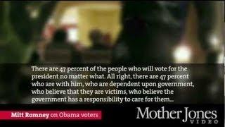 SECRET VIDEO: Mitt Romney on 47% of Americans