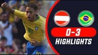 Brazil vs Austria Highlights | Friendly Match | FIFA World Cup | #highlight