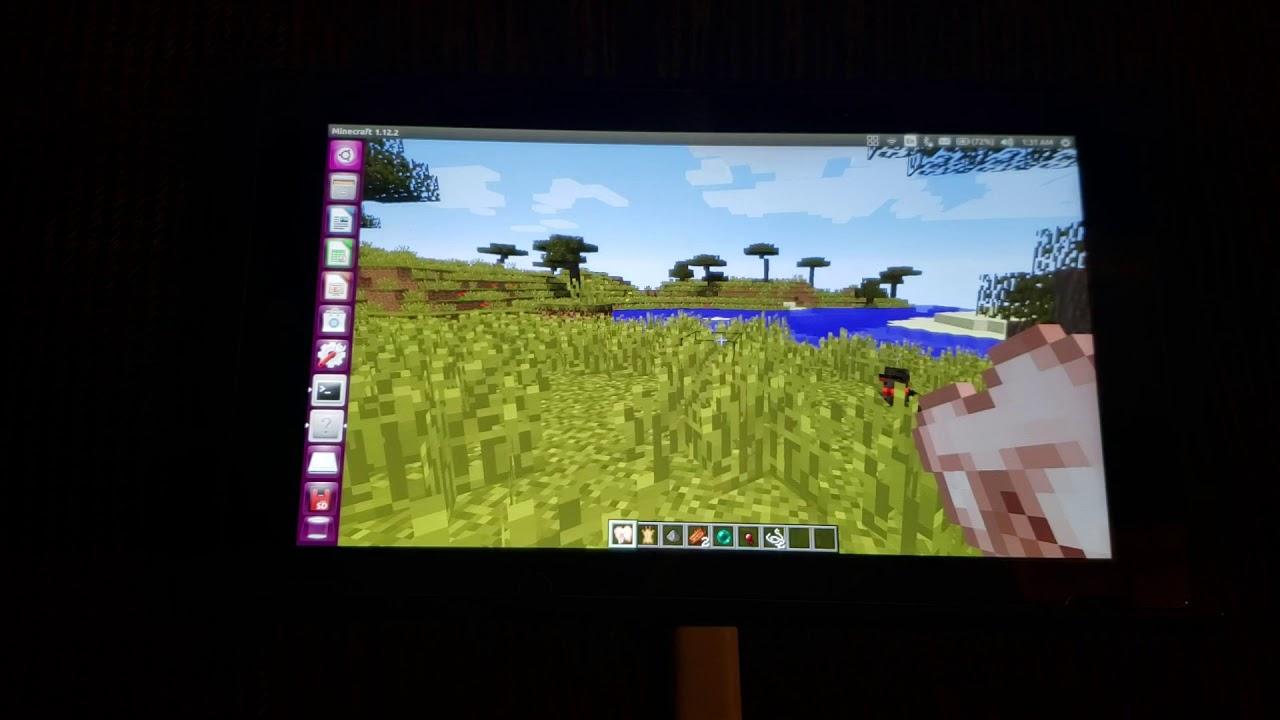 Minecraft Java Edition on Nintendo Switch!