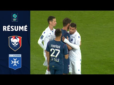 Caen Auxerre Goals And Highlights