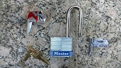 How To Open A Padlock Without A Key