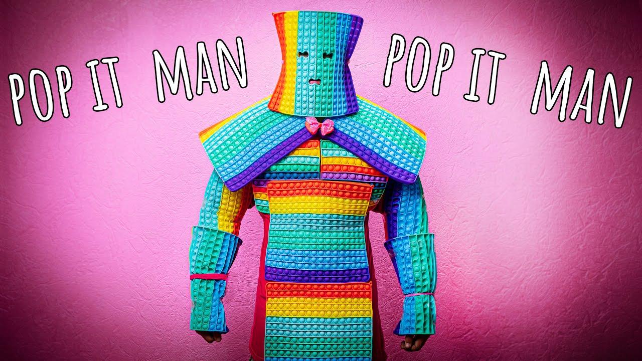 ЧЕЛОВЕК-попЫт! Новый СУПЕРГЕРОЙ! POP IT-MAN!