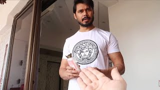 He is using FOOT cream on FACE for a month | Ss vlogs :-)