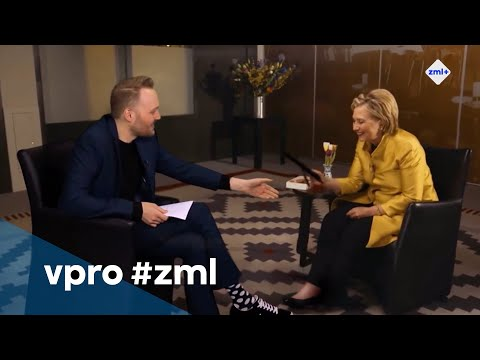Eva Jinek interviewt Hillary Clinton  - Zondag met Lubach (S08)