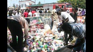 Wafanyabiashara Mwenge walalama - Uchumi zone.