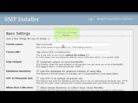 How to download and install SMF | FastDot Cloud Hosting