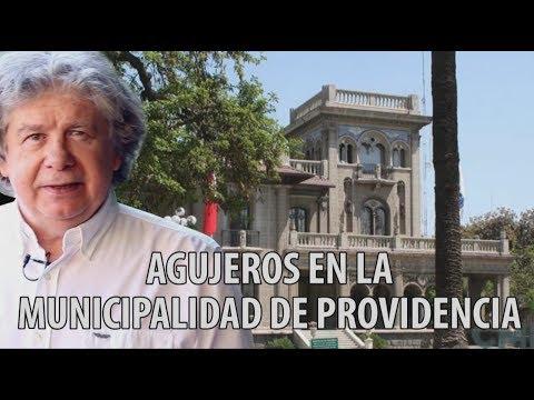 Fernando Villegas - Agujeros en Municipalidad de Providencia